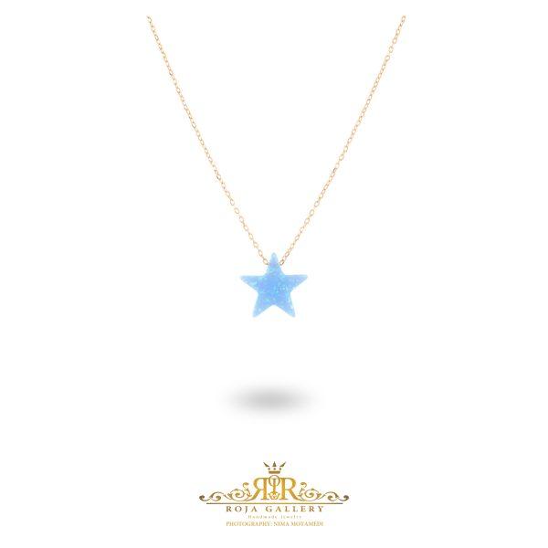 گردنبند اوپال ستاره