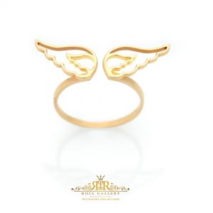 Roja Gold Gallery - wing Ring