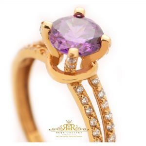 Roja Gold Gallery - Solitaire Ring