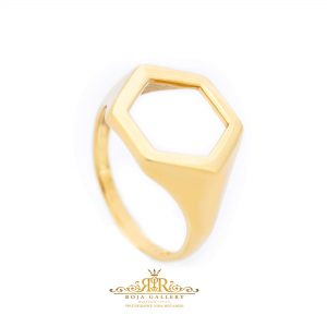 Roja Gold Gallery - Polygon Ring