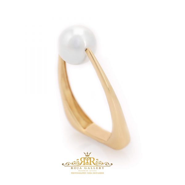 Roja Gold Gallery - Pearl Ring